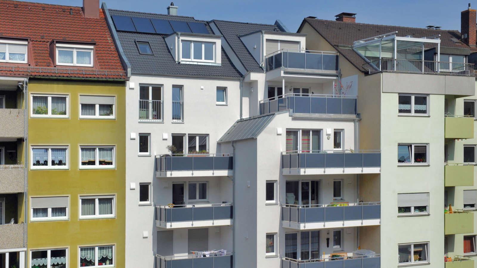Brosamerstraße | Innenhofseite