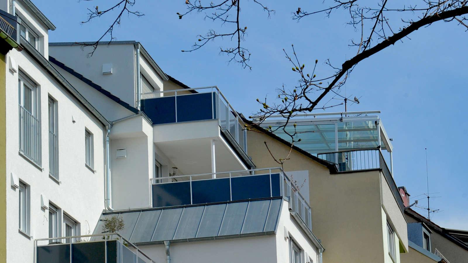 Brosamerstraße | Südseite