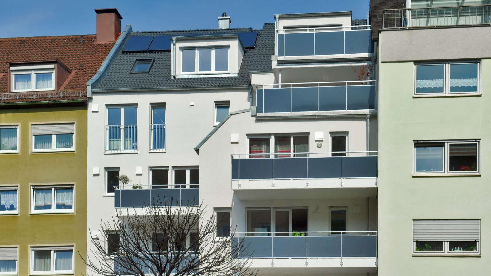 Brosamerstraße | Referenz | Südseite