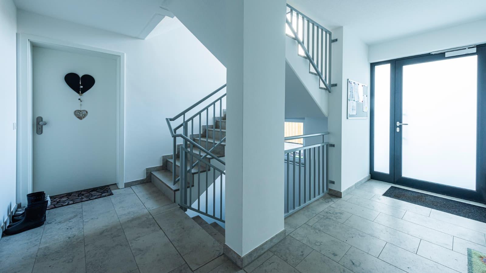 Rednitzgaerten - Eingang ins Haus