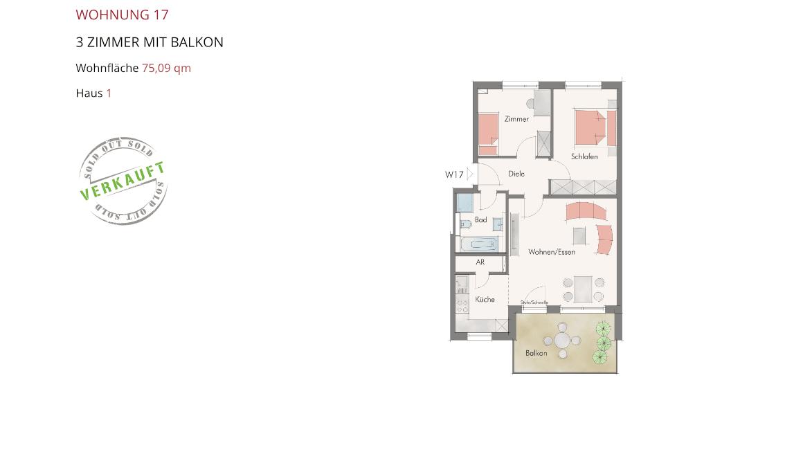 Wetzendorfer Sonnengärten - Wohnung 17