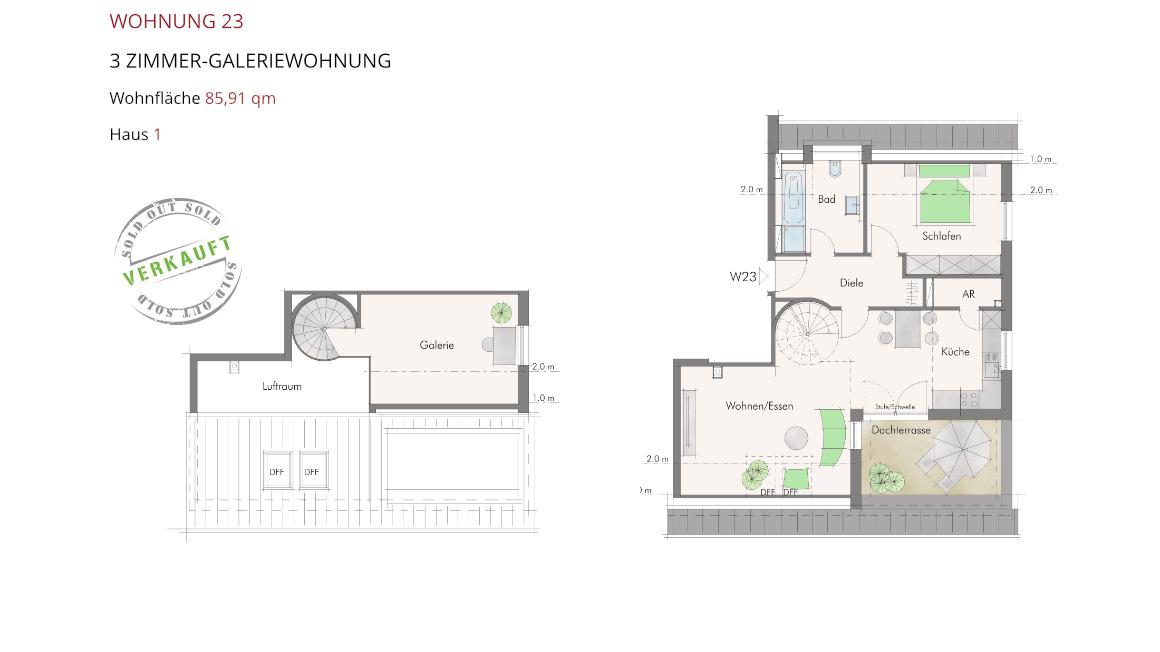 Wetzendorfer Sonnengärten - Wohnung 23