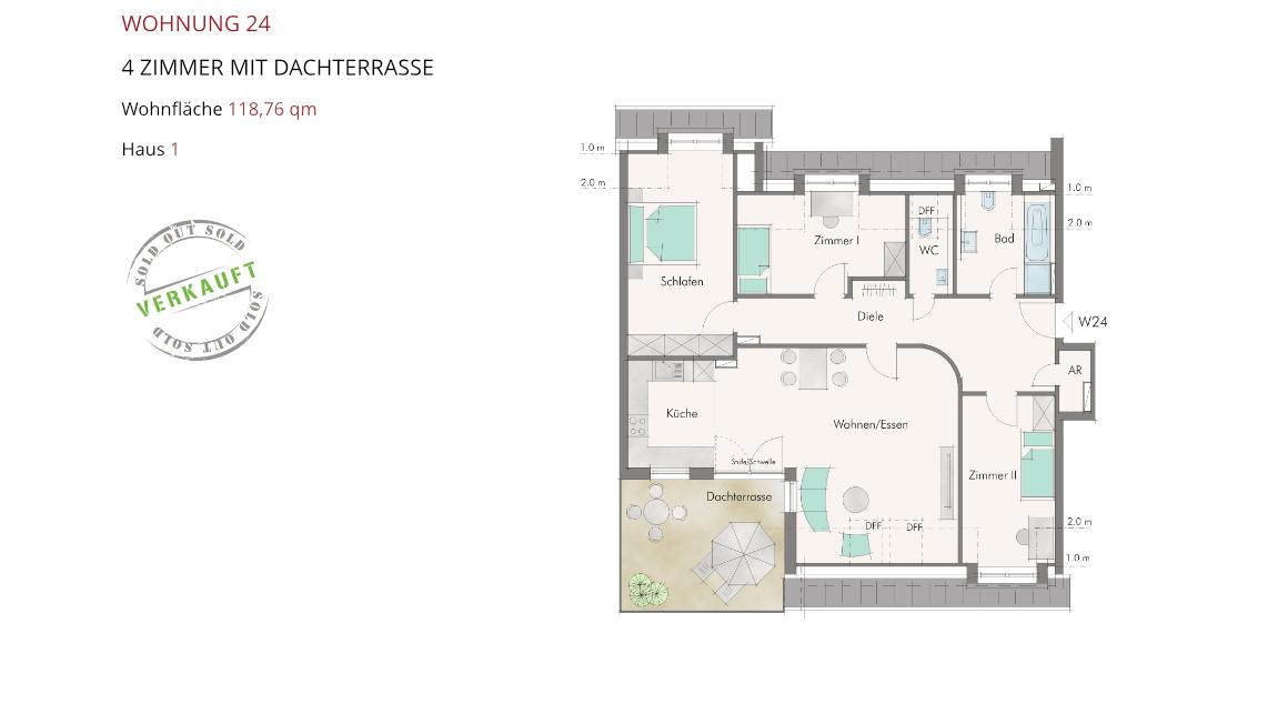 Wetzendorfer Sonnengärten - Wohnung 24