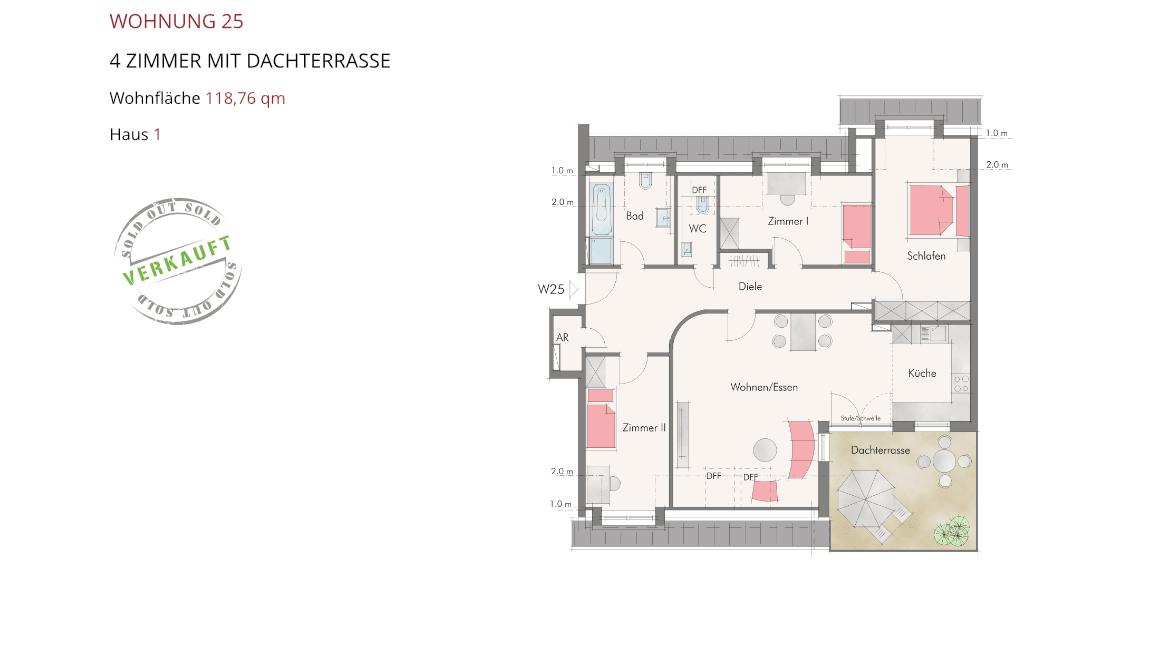 Wetzendorfer Sonnengärten - Wohnung 25
