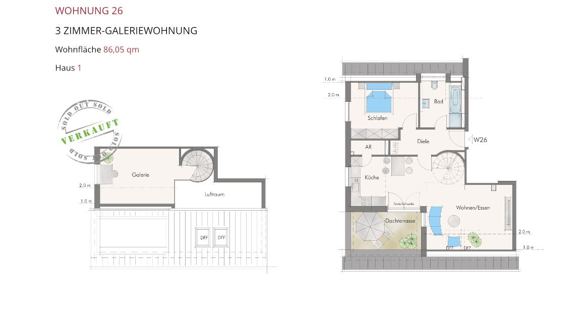 Wetzendorfer Sonnengärten - Wohnung 26