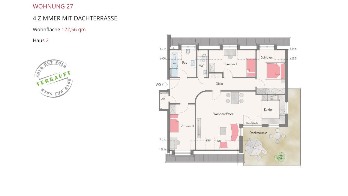 Wetzendorfer Sonnengärten - Wohnung 27