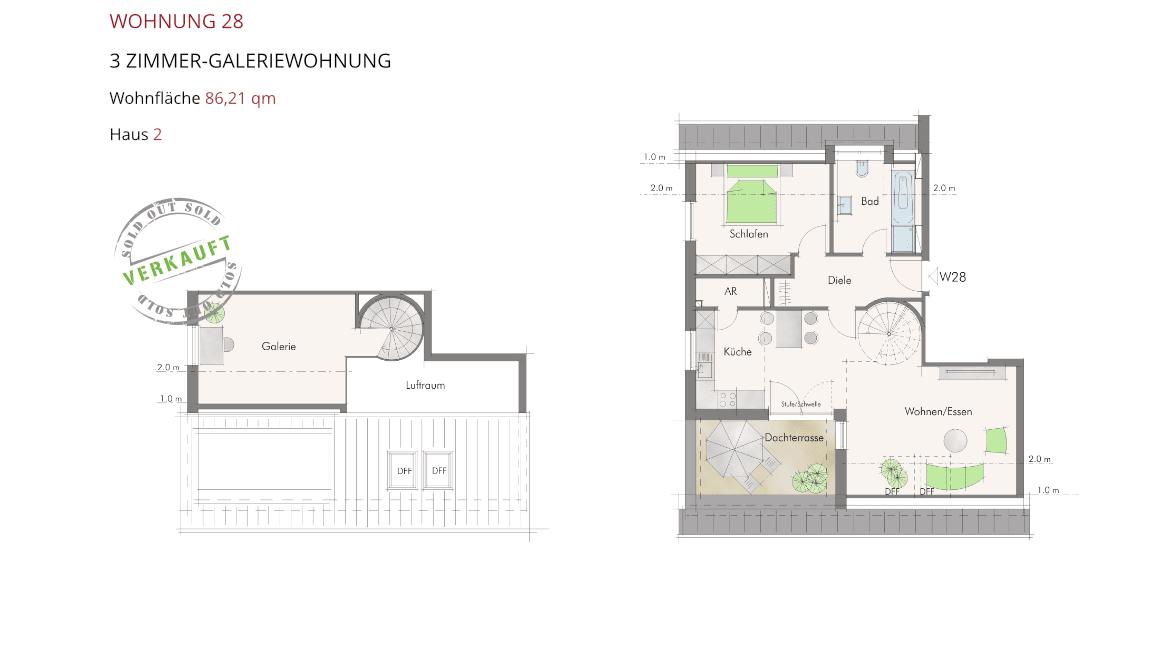 Wetzendorfer Sonnengärten - Wohnung 28