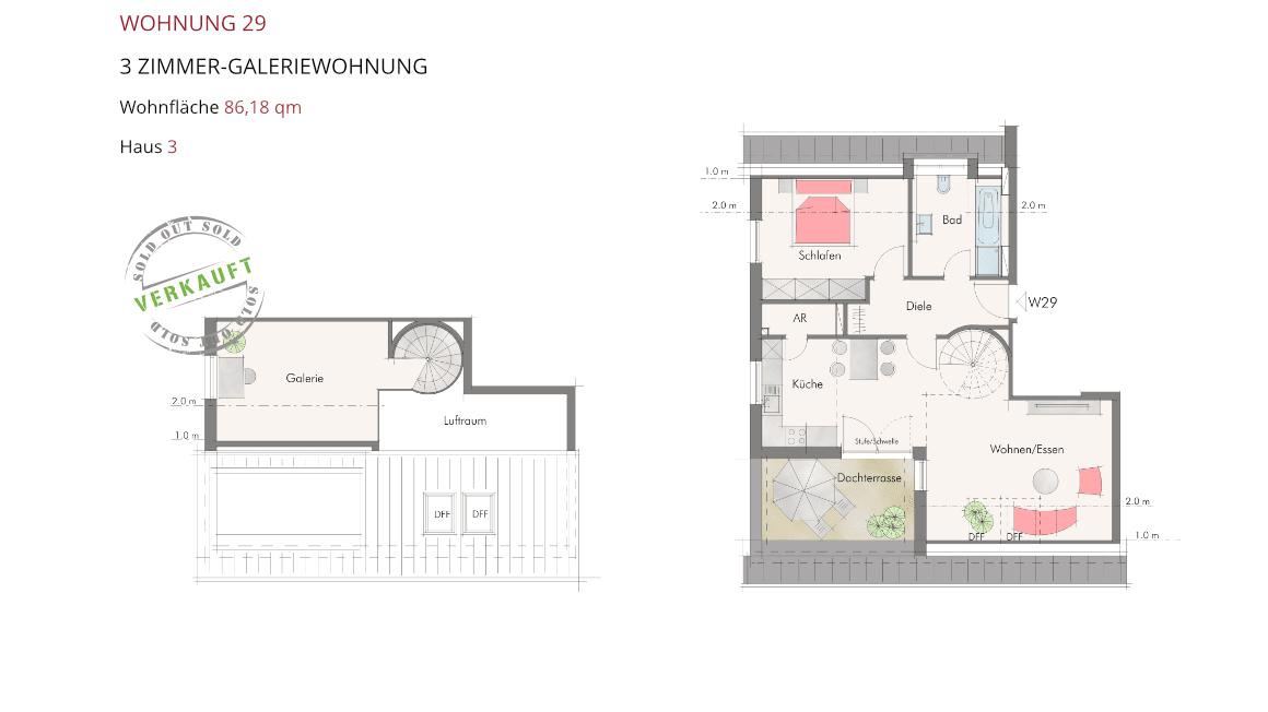 Wetzendorfer Sonnengärten - Wohnung 29