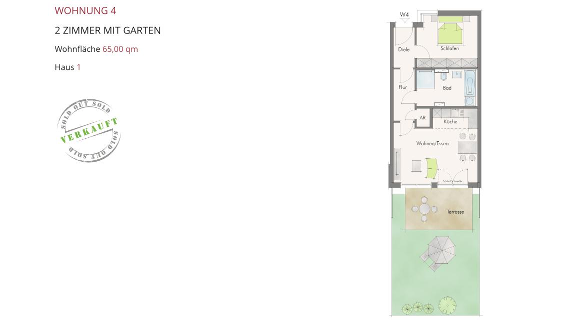 Wetzendorfer Sonnengärten - Wohnung 4