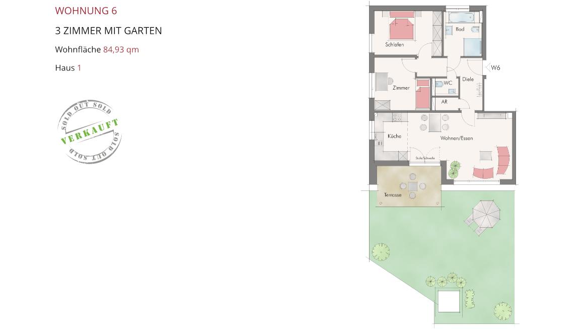 Wetzendorfer Sonnengärten - Wohnung 6
