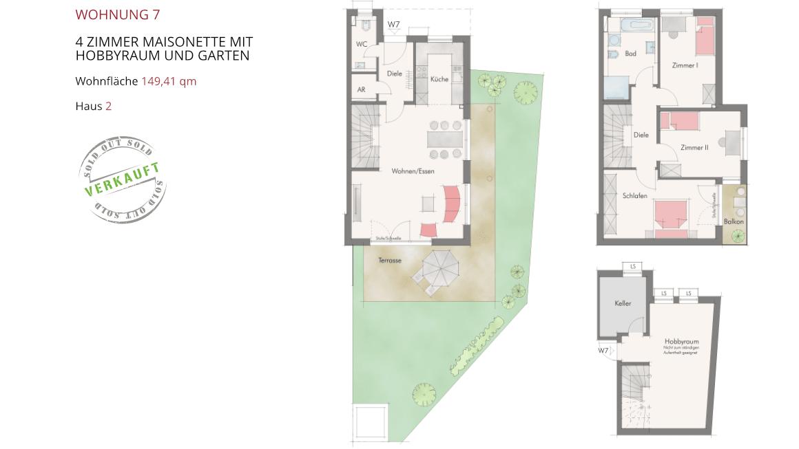 Wetzendorfer Sonnengärten - Wohnung 7
