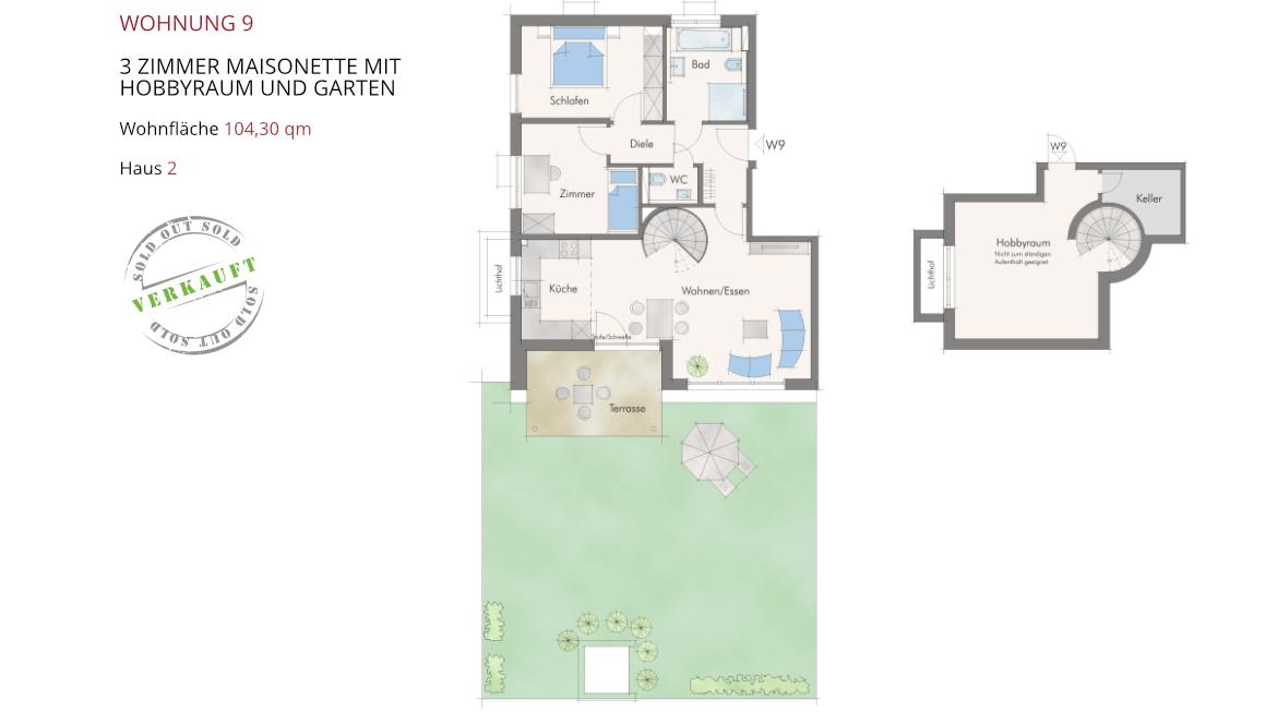 Wetzendorfer Sonnengärten - Wohnung 9