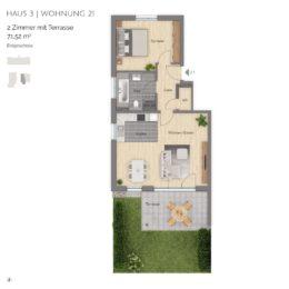 Wohnung 21