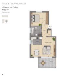 Wohnung 23