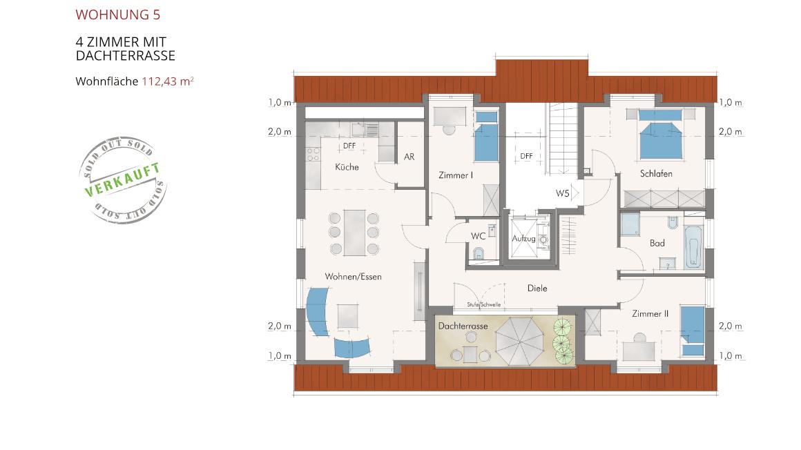 Sonnenblick in Katzwang - Wohnung 5